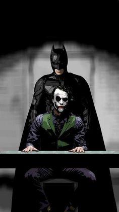 Pop Art - Batman and Joker