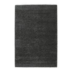 IKEA - ÅDUM, Matta, lång lugg, 133x195 cm, , Den täta, tjocka luggen dämpar ljud och är mjuk att gå på.Slitstark, fläcktålig och enkel att sköta eftersom mattan är gjord av syntetiska fibrer.