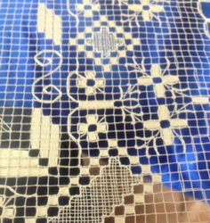 Fillet Crochet, Filets, Lace Making, Ribbon Embroidery, Tenerife, Bose, Woven Fabric, Diy And Crafts, Stitch