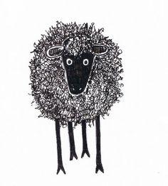 Critter Soup Animal Drawing made easy: Easy to Draw Silly Scribble Sheep Sheep Drawing, Sheep Illustration, Sheep Crafts, Sheep Art, Sheep And Lamb, Illustrations, Elementary Art, Easy Drawings, Animal Drawings