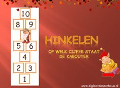Digibordles Hinkelen 1 - 10 http://digibordonderbouw.nl/index.php/themas/herfst/kabouters/viewcategory/169