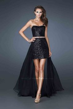 La Femme 18872 Prom Dress guaranteed in stock