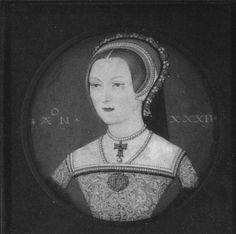 Miniature of Katherine Parr, Queen of England