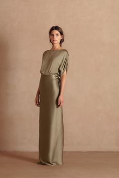 Laurel long party dress Cortana Ready to Wear Satin Dresses, Silk Dress, Sexy Dresses, Dress Skirt, Beautiful Dresses, Fashion Dresses, Dress Up, Formal Dresses, Long Party Dresses
