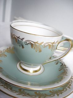 Love this tea cup and saucer