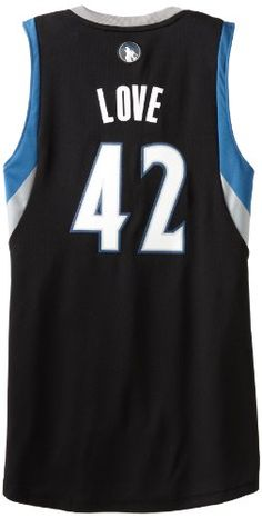 NBA Minnesota Timberwolves Black Swingman Jersey Kevin Love 42 Medium     You can find out more details at the link of the image. 4f736ec5f