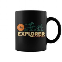 Cool and Awesome The Explorer Of Tropical Forest Mug Shirt Hoodie
