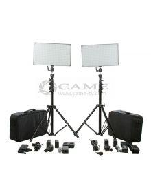 $600 - Batteries + 1016 LED Video Light Panel Studio Film Lighting [L508D*2] - US$578.00