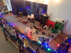 The Lego Xmas table