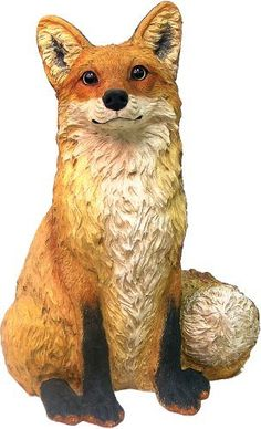 """Call of the Wild 89720 Fox by Call of the Wild. $59.95. Durable polyresin. Life-like eyes. Hand painted. Fox Garden Ornament. From The """"Call Of The Wild"""" Line of Animal Statuary. Durable Polyresin Composition Suitable For Indoor Or Outdoor Use. Hand-Painted Finish. For Outdoor Use We Recommend A Seasonal Application Of Polyurethane Spray to Protect The Original Finish"""