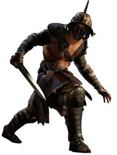 Gladiator with Gladius