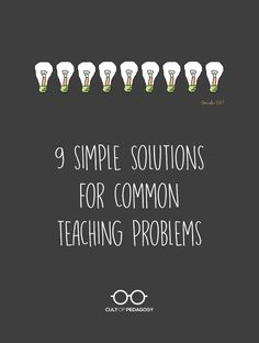9 Simple Solutions for Common Teaching Problems - Mark Barnes, a veteran teacher and author of six education books, thinks the solutions to many of our education challenges are things we could start doing tomorrow. Instructional Strategies, Teaching Strategies, Teaching Resources, Teaching Ideas, Classroom Routines And Procedures, Social Studies Classroom, Ela Classroom, Classroom Ideas, Cult Of Pedagogy