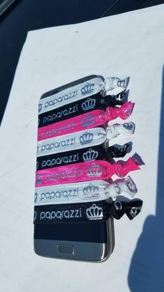 d6f22a020eed Paparazzi Elastic Bands- Silver Metallic -Great for Hair ties