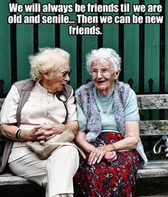 Friendship is the best thing that happens in our life, and the real friendship is you never leave your friends alone keep disturbing them ! whats is friendship without some fun & Humor, below i… Funny Quotes, Funny Memes, Hilarious, Jokes, Bff Quotes, Old Lady Humor, Just For Laughs, Friends Forever, Friendship Quotes