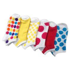 Women Fashion No Show Socks 6-Pack, Dots and Plain Fun Socks (AHB-3105) Teeheesocks,http://www.amazon.com/dp/B00H8W4PWM/ref=cm_sw_r_pi_dp_fDDQsb1KV1VFGCB9