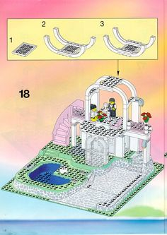 Thousands of complete step-by-step printable older LEGO® instructions for free. Here you can find step by step instructions for most LEGO® sets. Lego Instructions, Step By Step Instructions, Lego Sets, Map, Lego Games, Maps