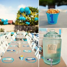 A Day at the Beach! | Great entertaining idea for your beach-feel party. #youresopretty