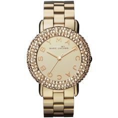 MARC By Marc Jacobs Swarovski Marci 36MM ($275) ❤ liked on Polyvore