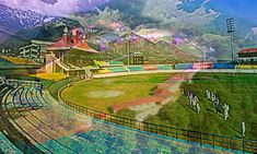 Chail Cricket grounds surrounded by trees and mountains are the world's largest cricket ground. This ground was constructed in 1893. This field is also used for playing polo, it is located at an altitude of about 2,200 meters.