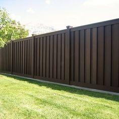 Trex Composite Fencing - Woodland Brown