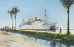 going through the suez canal 1962 - Google Search
