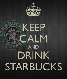 KEEP CALM AND DRINK STARBUCKS at #EPCOT & #MAGIC KINGDOM !! www.fairytaleadventurestravel.com