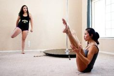 Piek says pole dancing for fitness is steadily gaining popularity on the Front Range.