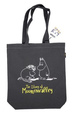 Made In Korea. Moomin Canvas Tote Bag.