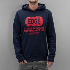Outfitters Nation Hoody blau
