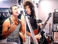 Freddie Mercury & Brian May