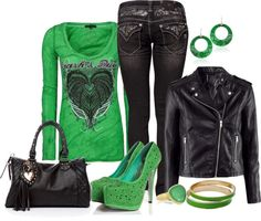 """St Paddy"" by fabulousego on Polyvore"