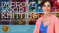 Ready to improve your knitting? Learn how with Lion Brand and Craftsy!