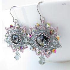 Grey Stars / Zboží prodejce jirra   Fler.cz Swarovski, March, Beads, Grey, Fashion, Fimo, Beading, Gray, Moda