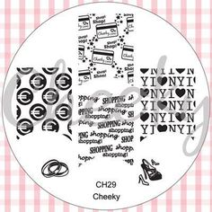 New Cheeky plates Ch29...new set coming may/june 2012