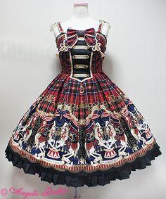 Cirque du L'Étoileナポレオンジャンパースカート