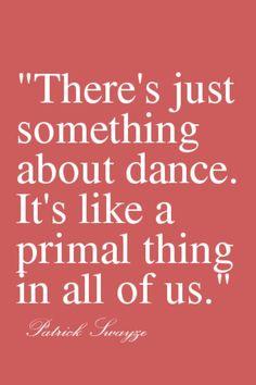 Dance  ~ Patrick Swayze