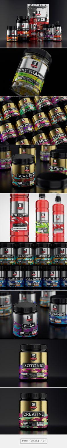 Sportline - Packaging of the World - Creative Package Design Gallery - http://www.packagingoftheworld.com/2017/03/sportline.html