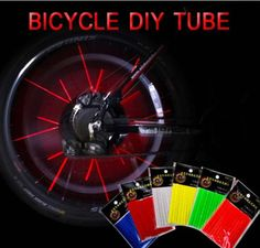 #24pcs bike bicycle cycling #spoke reflector #safety clip wheel reflective tube,  View more on the LINK: http://www.zeppy.io/product/gb/2/272060882339/
