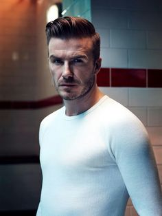 David Beckham, the bastard has great hair :-)