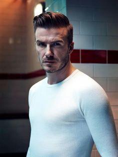 David Beckham David Beckham Pinterest Beckham - Beckham undercut hairstyle