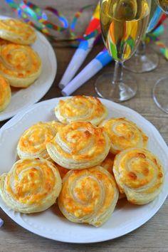 Főtt tojásos, sajtos csiga recept
