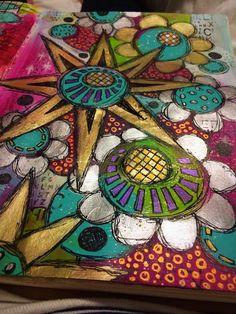 Metallic doodles #art #artist #artjournal #artjournaling #artjournalpage #doodle #doodles #doodlesofinstagram #color #colour #journaling #journal #layers #mixedmedia #mixedmediaart #mixedmediaartist #paint #stamping #stamps #pen