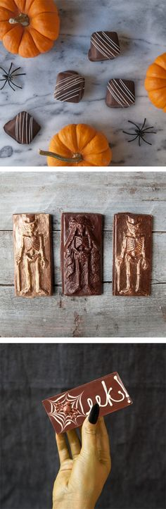 Limited edition chocolates to die for from Black Dinah Chocolatier. Shop now before Halloween passes away! Halloween Chocolate, Halloween Foods, Halloween Stuff, Halloween Ideas, Tasty, Yummy Food, Autoimmune Paleo, Chocolate Treats, Harvest Moon