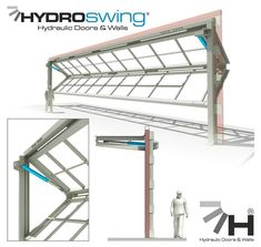 Model 2500 Rolling Steel Commercial Garage Door Heavy