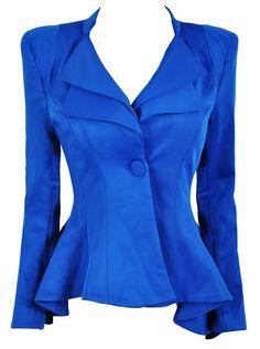 Cobalt blue! Love!