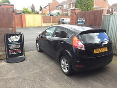 2015 Ford Fiesta in this afternoon for 18% Carbon tints to the rear and de-badge.