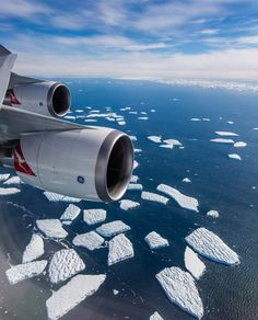 Qantas special flight over Antartica - 20 hours in the air straight, flight left Perth, Australia and returned to Perth, no where to land in case of emergency...