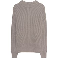 The beige colored fine knit pullover is made of a high-quality wool cashmere blend and keeps you perfectly warm on the cold days. It comes in straight cut, wi…