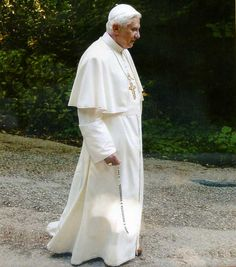 """""""After having repeatedly examined my conscience before God, I have come to the certainty that my strengths, due to an advanced age, are no longer suited to an adequate exercise of the Petrine ministry,"""" his statement said. Joseph Ratzinger became the 265th pope in April 2005. We love you Papa"""