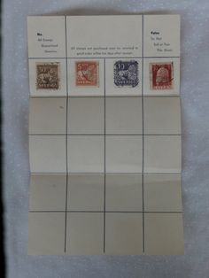 Sheet with Stamps Sweden Standing Lion Sverige in 5, 10, and 30 Ore, Plus a 1911 Bayern 10 pf stamp in red - $9.99